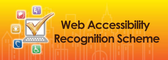 "Gold Award of the ""Web Accessibility Recognition Scheme"