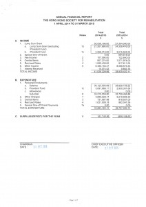 The Audited Consolidated Financial Statements 2014*-15