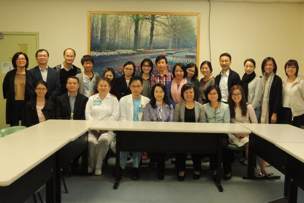"JCECC- ""Life Rainbow"" End-of-Life Care Services group photo, 賽馬會安寧頌 - 「安晴.生命彩虹」社區安寧照顧計劃合照"