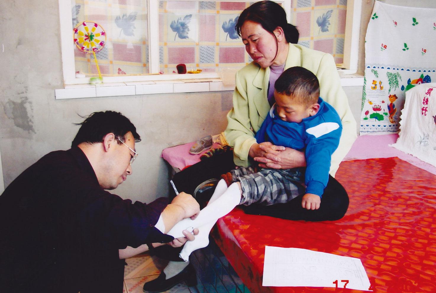 國際及中國部復康訓練相片