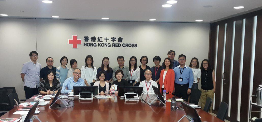 Red Cross Visit Photo