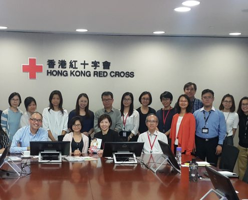 Red Cross Visit Photo