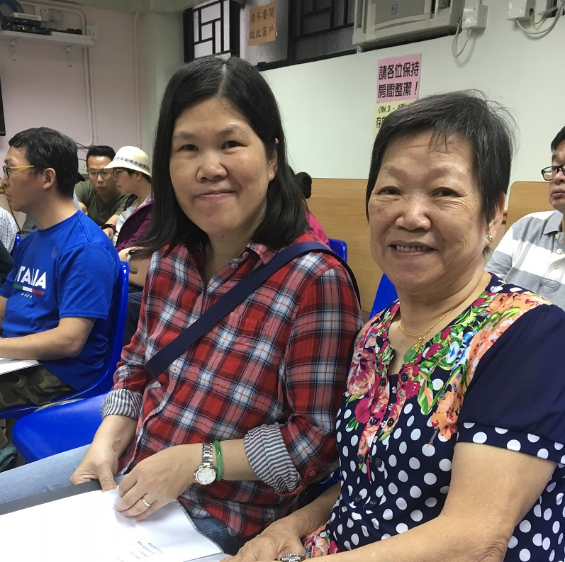 Service User Shirley and her mother 服務使用者Shirley及媽媽