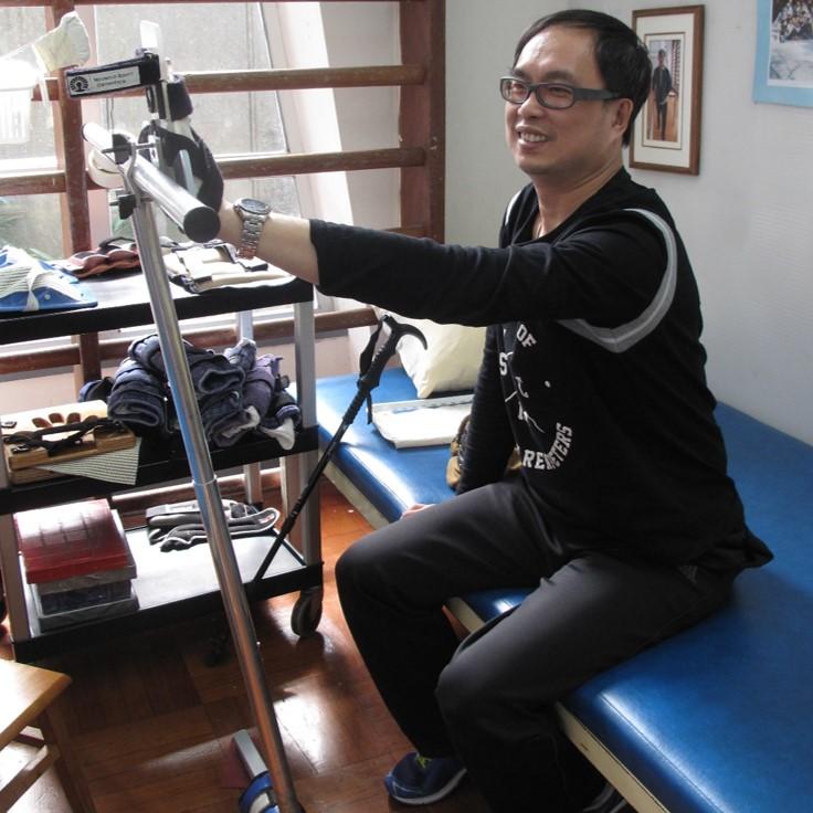 Chi Yin under rehabilitation