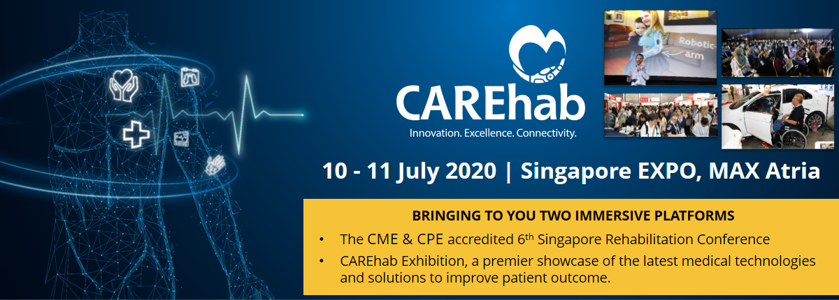 6TH SINGAPORE REHABILITATION CONFERENCE 2020